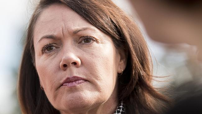 "Police Minister Liza Harvey announced the creation of police ""meth transport teams"" which will target supply routes into WA. Picture: Matthew Poon Source: News Corp Australia"