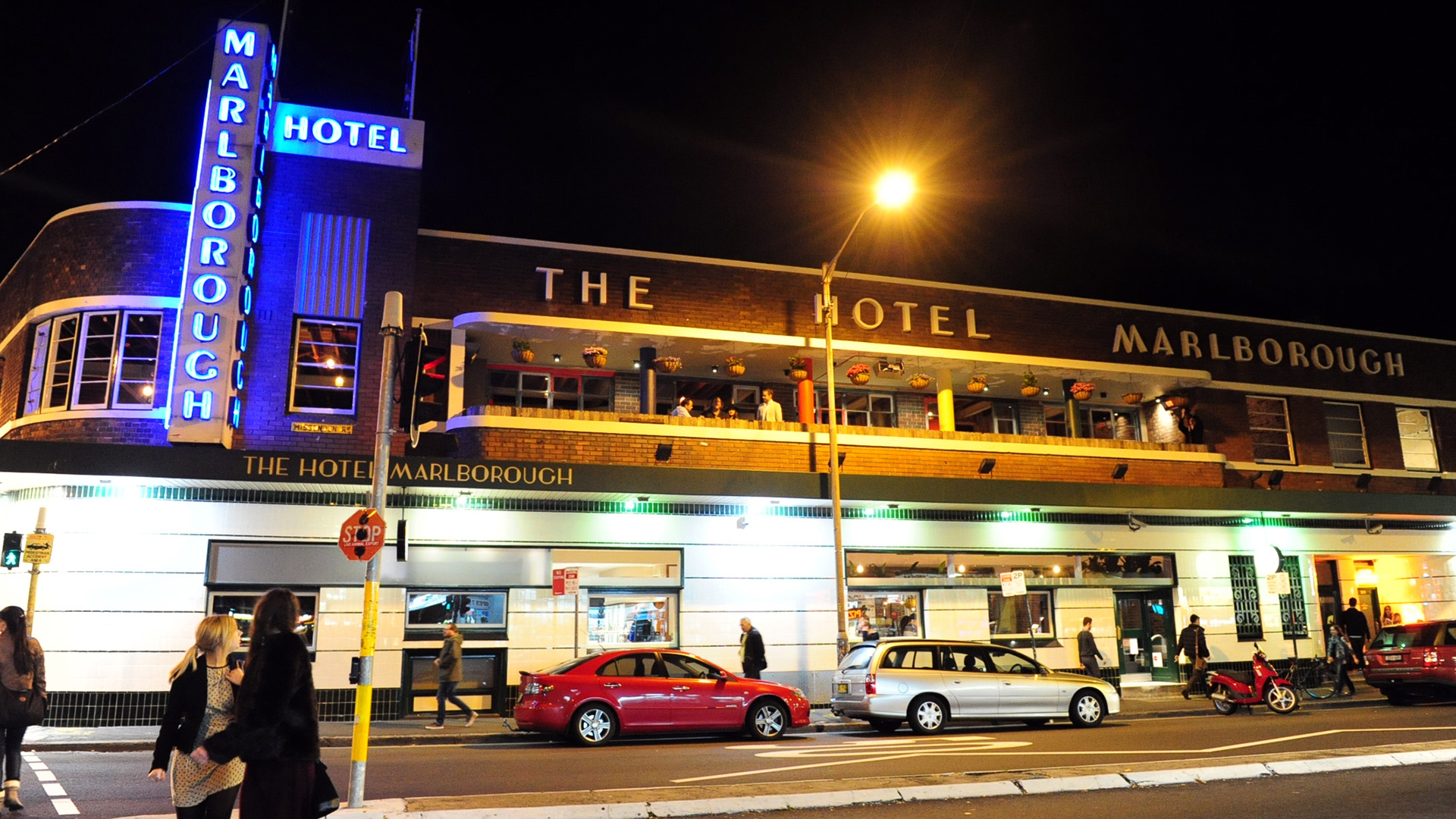 Marlborough Hotel in Newtown is one of the late-trading venues that has signed the accord