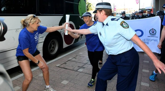 Liverpool's Women in Policing Baton Relay Marches Through CBD
