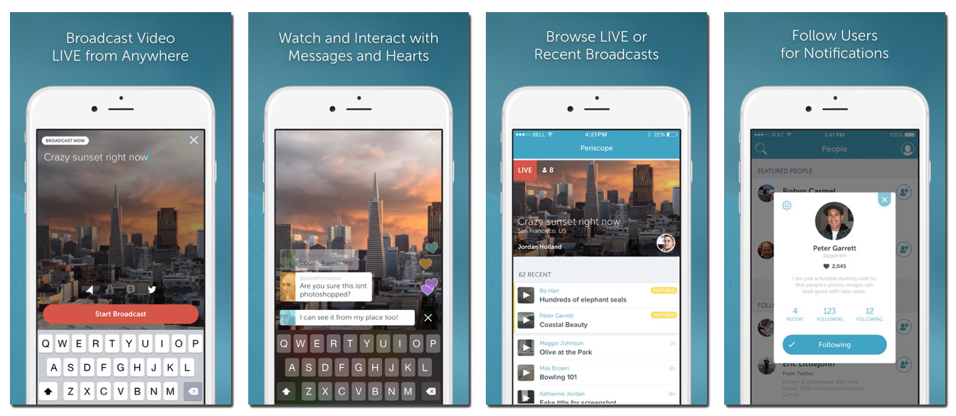 Periscope app is used by thousands of law enforcement agencies around the world.