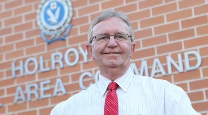 NSW Police Holroyd LAC Manager Retires After 43 Years