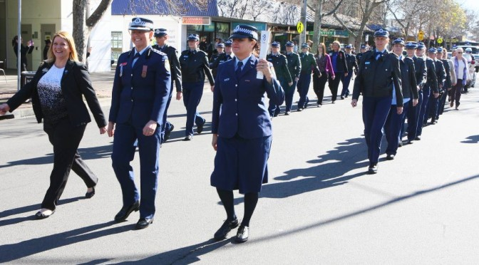 St Marys Local Area Command Street Parade Celebrates 100 Years of Women In Policing