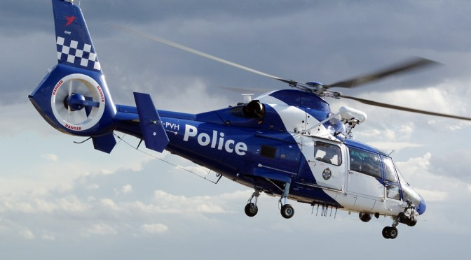 Helicopters To Support Victoria Police Hamstrung By Pursuit Policy
