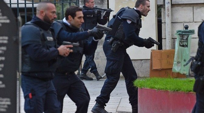 Five Police Officers Injured, K9 Killed During Siege On Paris Apartment