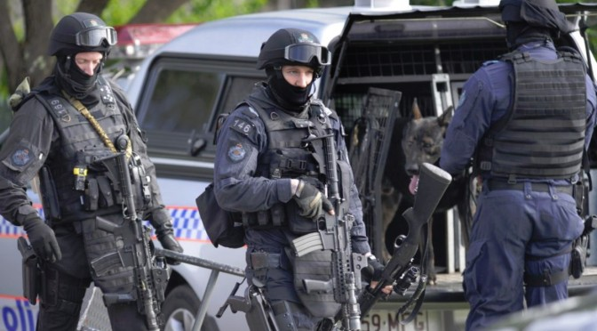Police Commandos Deployed To Gold Coast for Schoolies
