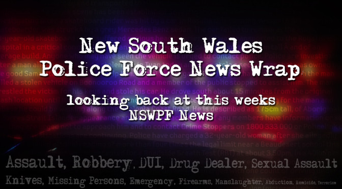 NSW Police Weekly News Wrap