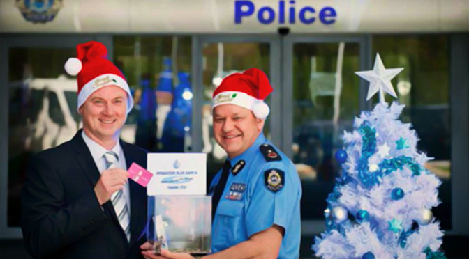 WA Police: Operation Blue Santa Is a Go