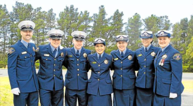Graduating With Highest Distinction, New Police Officers Ready for Duty In Tasmania's North West