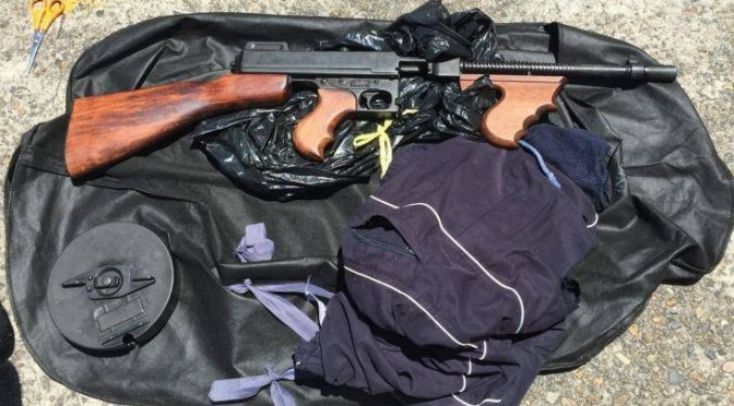 Man Caught Carrying Thompson Sub-machinegun In Sydney