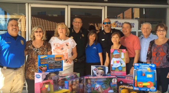 Law Enforcement Operation 'Reverse Christmas Parade' Yields Outpouring of Toys