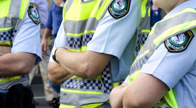 Sydney Police Officers Assaulted