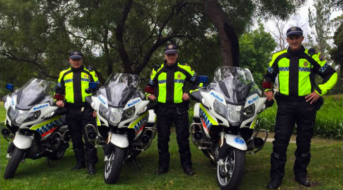 New Motorcycle Fleet for Tasmania Police