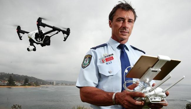 New South Wales Police Drones Take Off To Fight Crime