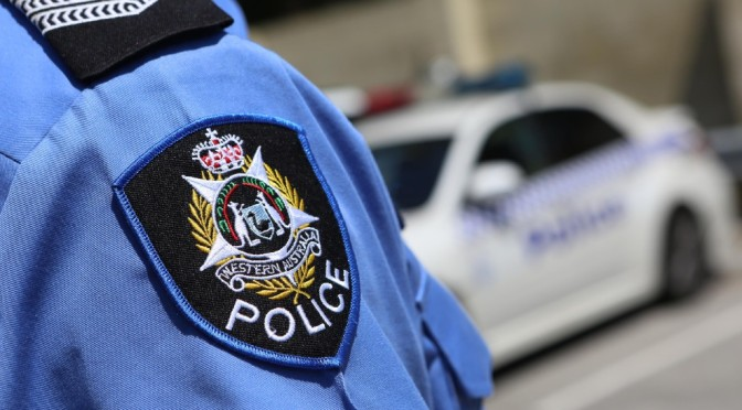 Lowlife Scum Tries To Run Over WA Police Officers Leaving One Officer Injured