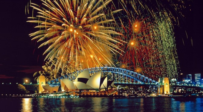 Police Mostly Satisfied With Behaviour of New Year's Eve Revellers Across Australia