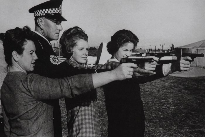 Women in SAPOL were issued firearms as late as 1977.