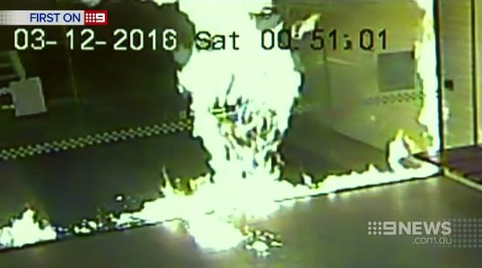 Search for Melbourne Police Station Firebomber