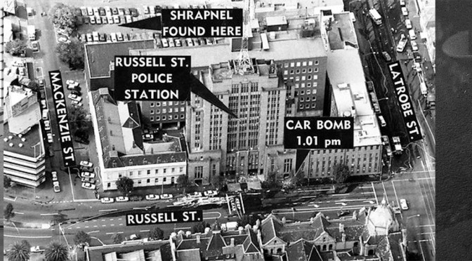 Remembering Victoria Police Russell Street Headquarters Bombing