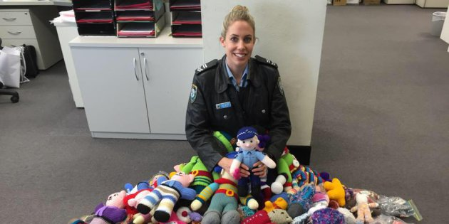 NSW Police Officer Is Helping Trauma Teddies Reach Children In Times Of Need
