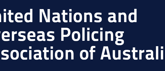 United Nations & Overseas Policing Association of Australia statement in relation to Barry Urban MP – Member for Darling Range